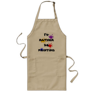 I'd Rather Be Long Apron