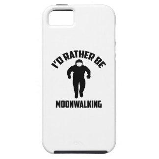I'd Rather Be Moonwalking iPhone SE/5/5s Case