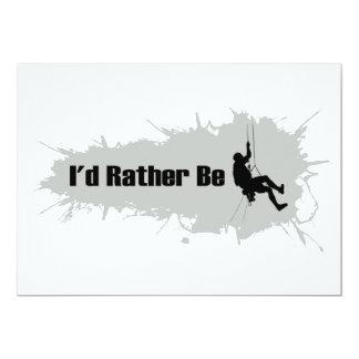 I'd Rather Be Mountain Climbing 1 Card