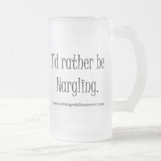 """I'd rather be Nargling."" Mug"