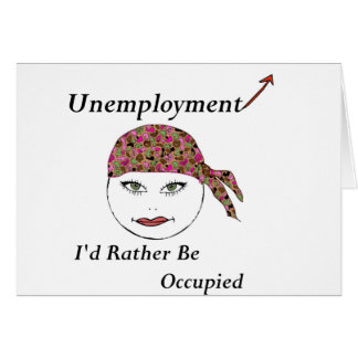 I'd Rather be Occupied Card