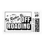 I'd Rather Be Off-Roading Stamp