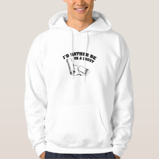 I'd Rather Be On A Quest Pullover