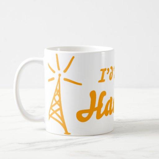 I'd Rather Be On Ham Radio Coffee Mugs
