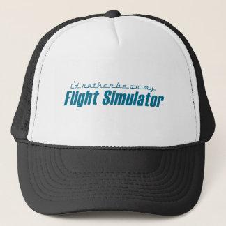 I'd Rather Be on my Flight Simulator Trucker Hat