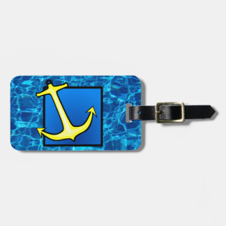 I'd Rather Be On The Water Tag For Bags