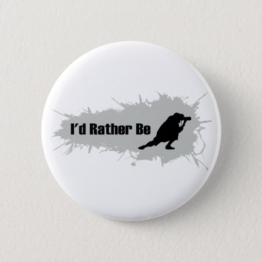 I'd Rather Be Photographing Pinback Button