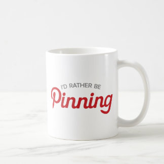I'd Rather be Pinning Coffee Mug