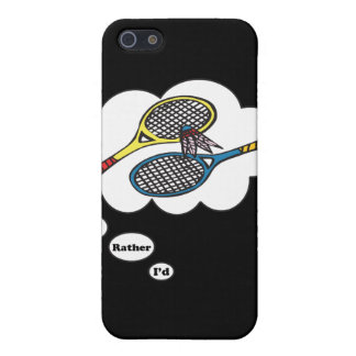 I'd rather be playing Badminton iPhone SE/5/5s Case