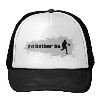 I'd Rather Be Playing Basketball Trucker Hat