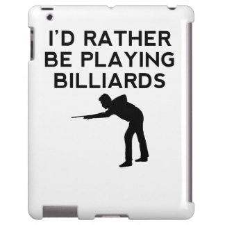 I'd Rather Be Playing Billiards