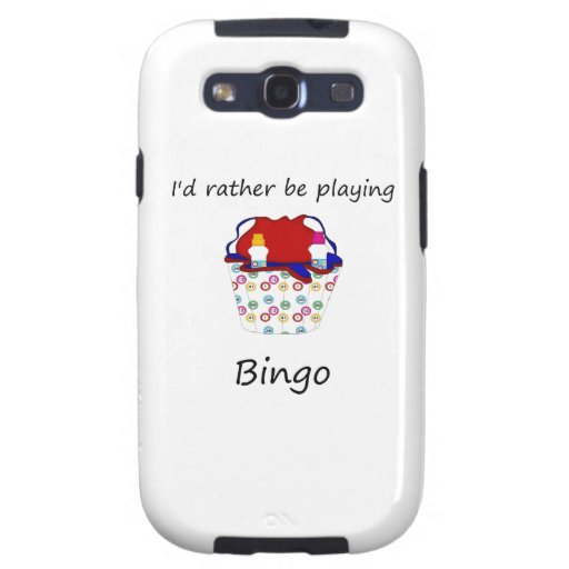 I'd rather be playing bingo (bag) samsung galaxy SIII case
