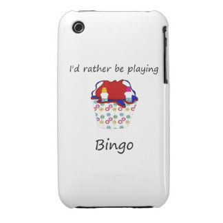 I'd rather be playing bingo (bag) iPhone 3 Case-Mate case