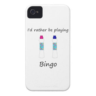 I'd rather be playing bingo (daubers) iPhone 4 Case-Mate cases
