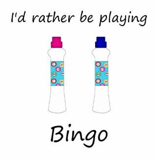 I'd rather be playing bingo (daubers) statuette