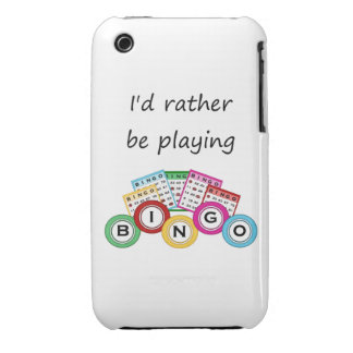 I'd rather be playing bingo iPhone 3 case