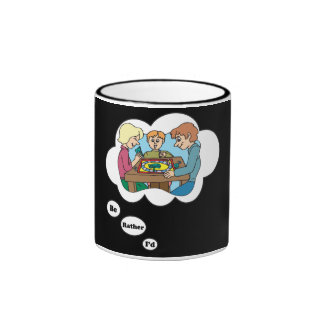 I'd rather be playing Board Games 6 Ringer Coffee Mug