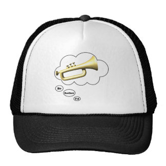 i'd rather be playing Bugle 4 Trucker Hat