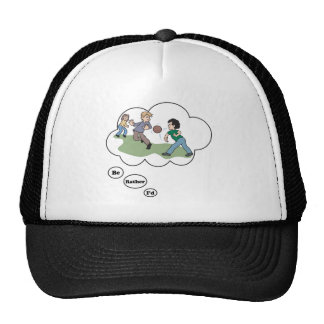 I'd rather be playing Dodgeball Trucker Hat