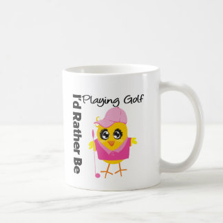 I'd Rather Be Playing Golf Classic White Coffee Mug