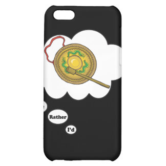 i'd rather be playing Gong iPhone 5C Cases