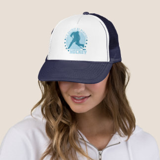 I'd Rather Be Playing Hockey Trucker Hat