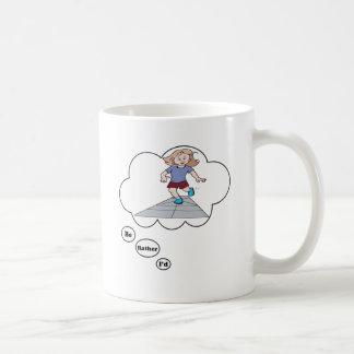 I'd rather be playing Hop Scotch Coffee Mug