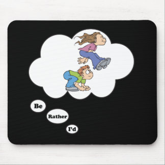 I'd rather be playing Leap Frog 3 Mouse Pad