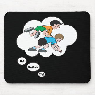 I'd rather be playing Leap Frog Mouse Pad