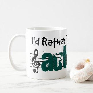 I'd Rather Be Playing My Autoharp Coffee Mug