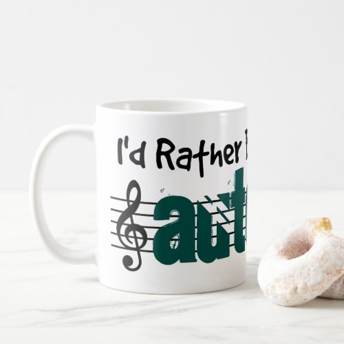 I'd Rather Be Playing My Autoharp Classic Coffee Mug