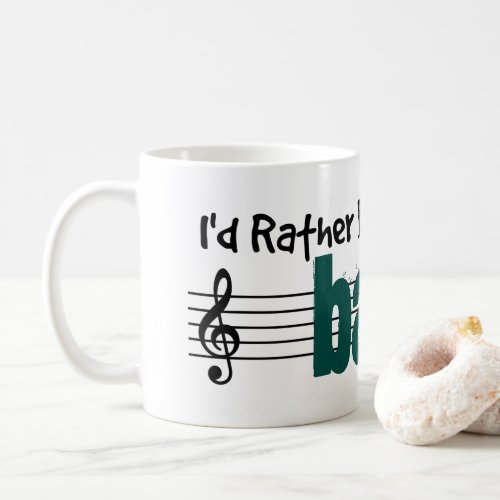 I'd Rather Be Playing My Banjo Classic Coffee Mug