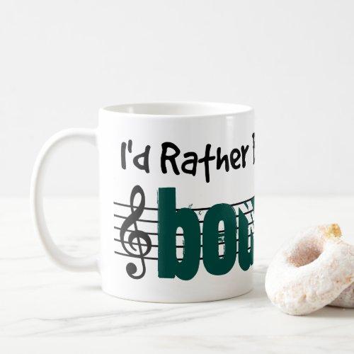 I'd Rather Be Playing My Bouzouki Classic Coffee Mug