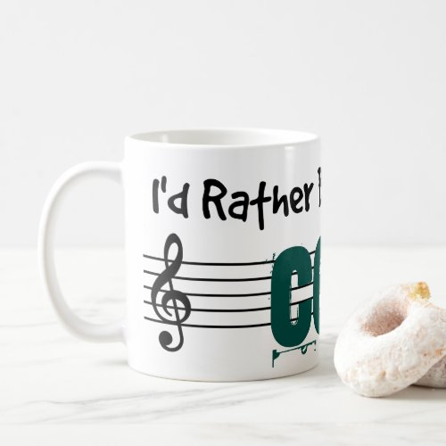 I'd Rather Be Playing My Cello Classic Coffee Mug