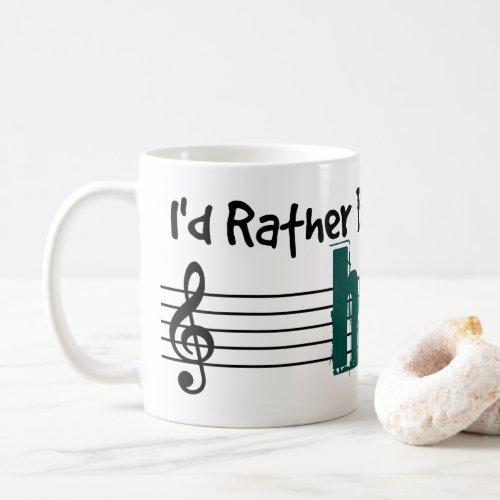 I'd Rather Be Playing My Harp Classic Coffee Mug
