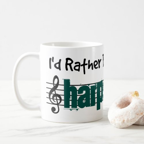 I'd Rather Be Playing My Harpsichord Classic Coffee Mug