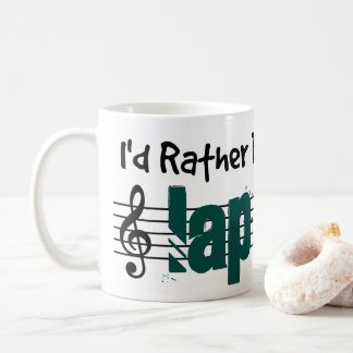 I'd Rather Be Playing My Lap Steel Coffee Mug