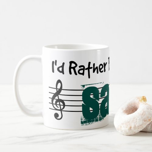 I'd Rather Be Playing My Sarod Classic Coffee Mug