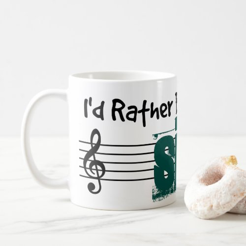 I'd Rather Be Playing My Sitar Classic Coffee Mug