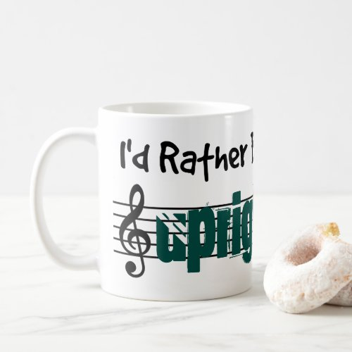 I'd Rather Be Playing My Upright Bass Classic Coffee Mug