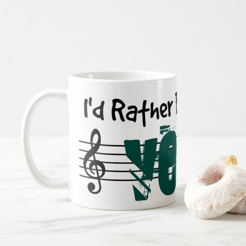 I'd Rather Be Playing My Veena Classic Coffee Mug