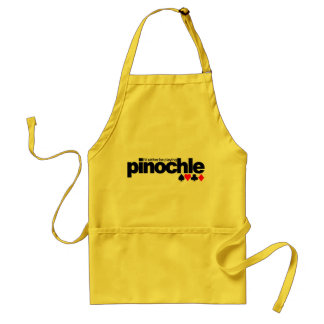 I'd Rather Be Playing Pinochle apron - choose styl