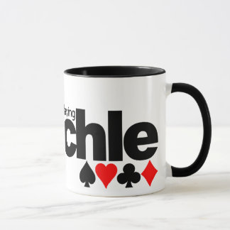 I'd Rather Be Playing Pinochle mug - choose style