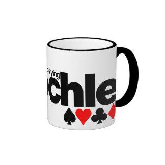 I'd Rather Be Playing Pinochle mug - choose style