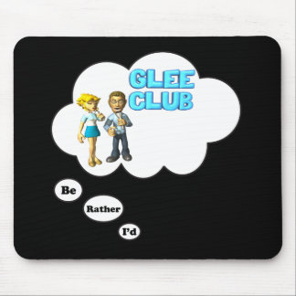 i'd rather be playing Singing Duet Mouse Pad