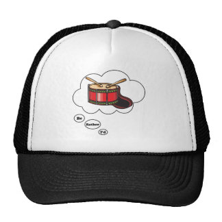 i'd rather be playing Snare Drums 4 Trucker Hat
