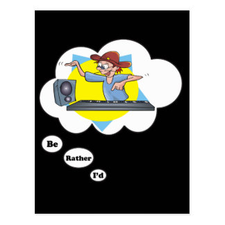 i'd rather be playing Synthesizer 2 Postcard