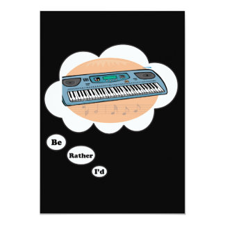 i'd rather be playing Synthesizer Card