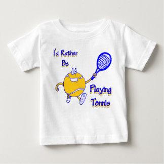 I'd Rather Be Playing Tennis Tee Shirt