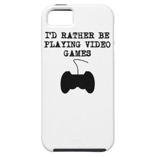 I'd Rather Be Playing Video Games iPhone 5 Covers
